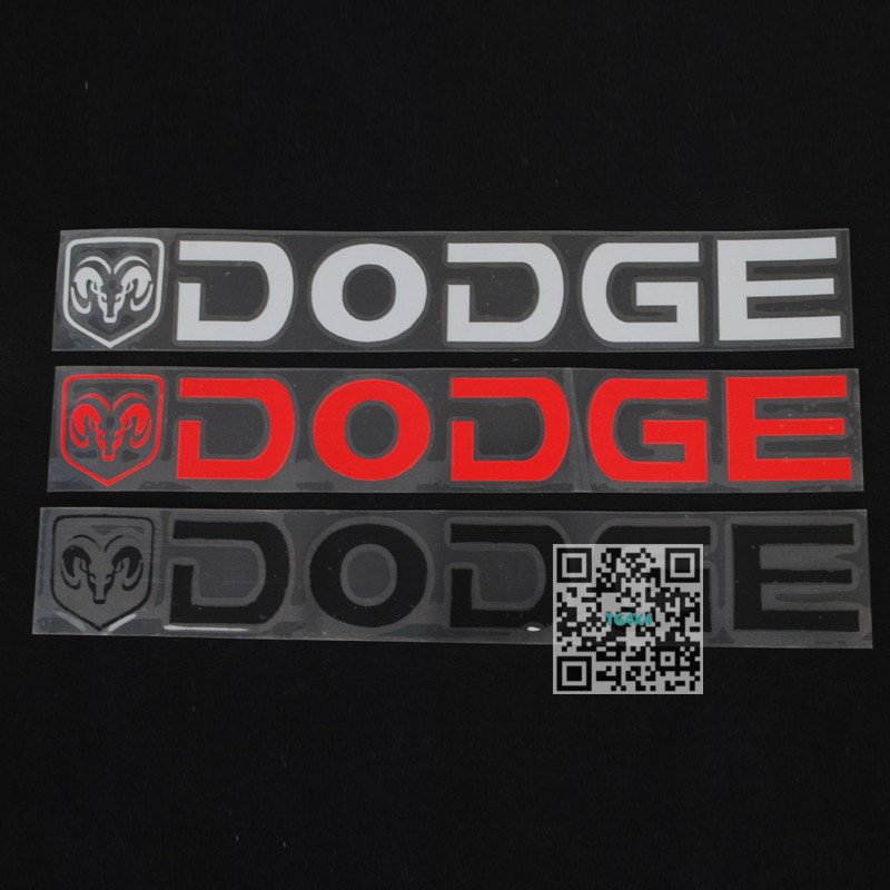 Aliexpress Com Buy Car Reflective Sticker For Dodge Ram