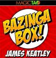2016 New Arrivals Bazinga Box (Gimmick and Online Instructions),Stage Magic,Close up,Card Magic props,Fun,Mentalism,Illusion