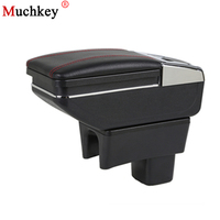 Armrest Box For SUZUKI Swift Central Store Content Box Cup Holder Ashtray Products Console Arm Car Styling Accessories Parts