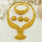Gold Jewelry Set Dub...
