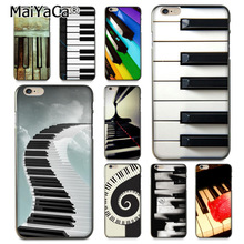 MaiYaCa Music Piano Keyboard High Quality Classic Phone Accessories Case For IPhone X 6 6s 7