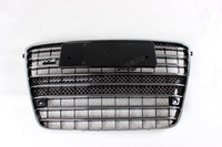 W12 Style Front Mesh Honeycomb Grille Grill for Audi A8 2010 2014
