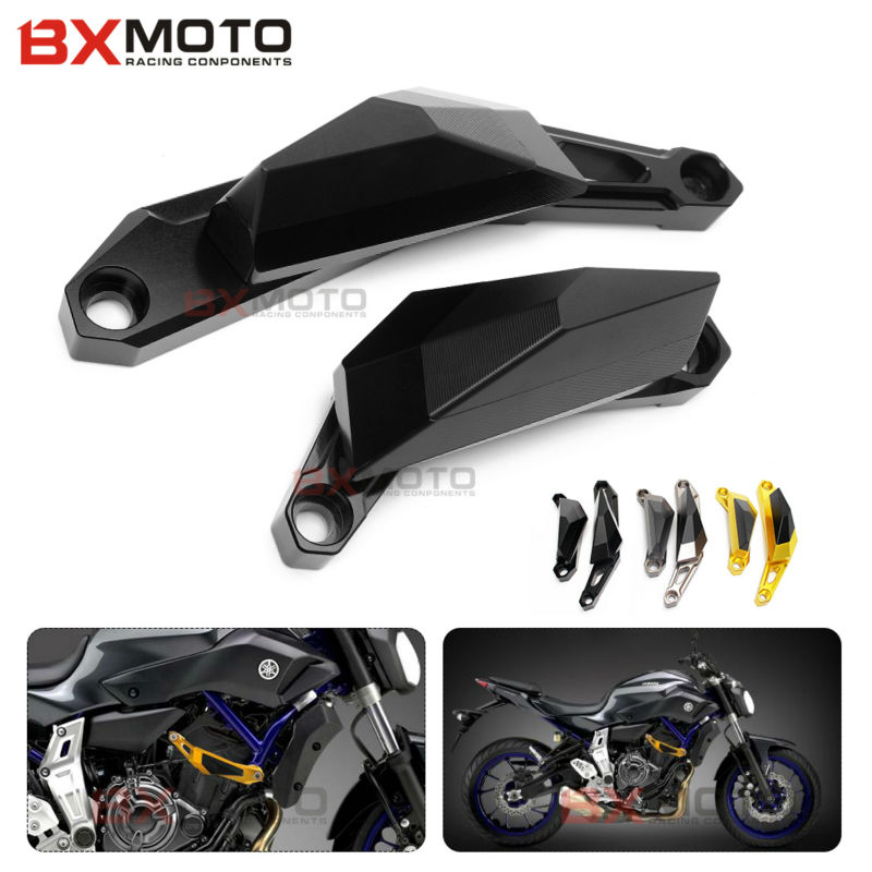 New Motorcycle accessories Motorbike Left and Right Frame Slider Anti Crash Protector For Yamaha MT07 MT-07 2013 2014 2015