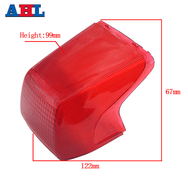 For HONDA AX-1 AX1 AX 1 NX250 NX250 Motorcycle Tail Rear Brake Light Stop Light Lamp Cap Cover Shell