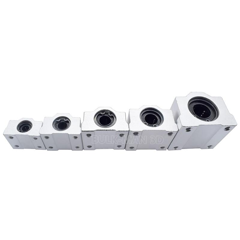 3D Printer RepRap SC8UU Linear Bearing Slide Block Bracket SCS8UU 8mm Shaft