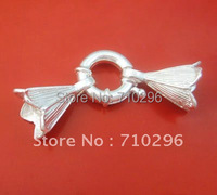5pcs/lot 925 Solid Sterling Silver spring lock jumbo link 3.5x15mm FIT DIY 925 silver jewelry