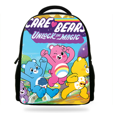 Satchel Children School Bags Cute Cartoon Care Bears Print Backpacks for Girls Book Mochila Escolar Rucksack