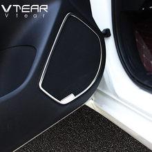 Vlarme pour Mazda 3 Axela accessoires voiture porte stéréo haut-parleur Audio son haut-parleur moulage Kit de couverture garniture intérieure 2017 2018