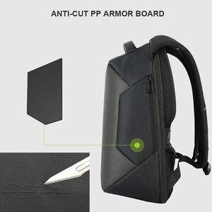 Image 4 - BAIBU yeni sırt çantaları erkekler USB şarj dizüstü anti hırsızlık sırt çantası moda tasarım sırt çantası rahat Mochila rahat seyahat çantası erkek