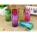 6PCS/Lot 30ml Travel Spray Bottles MIni Portable Refillable Perfume Atomizer Red glass Empty bottles parfum cosmetic containers