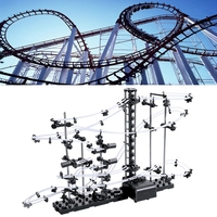 Level 1 Child Spacerail Marble Runs Roller Coaster Building Toys Set New