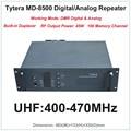 Tytera MD-8500 TYT UHF 400-470 МГц DMR Цифровой и Аналоговый Профессиональный Walkie Talkie Ретранслятора с Двусторонней Печати (РФ выходная Мощность 45 Вт)