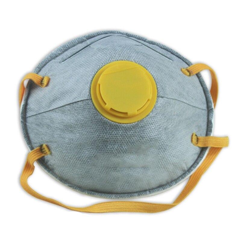 1 Unids/set 8088 V Anti Polvo Transpirable Anti-niebla Carbón Activado Con Válvula De Tela No Tejida De Filtro Máscara Moderno Y Elegante En La Moda