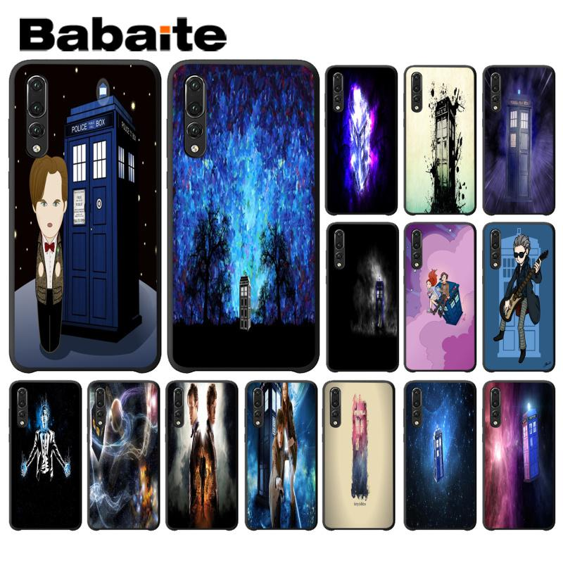 Alert Babaite Doctor Who Soft Silicon Black Phone Case For Huawei P9 P10 Plus Mate9 10 Mate10 Lite P20 Pro Honor10 View10 Delaying Senility Cellphones & Telecommunications