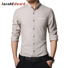 Informal Workplace Shirt Man 2017 Spring New Arrival Males's Shirts Lengthy Sleeve Slim Match Male Shirt Busness Informal Camisa Masculina