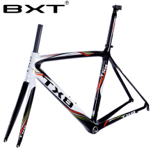 BXT ultralight carbon carbon fiber road truck frame font b bicycle b font assembly accessories 20