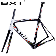 BXT ultralight carbon carbon fiber road truck frame bicycle assembly accessories 20-inch 26-inch cross-country car front fork