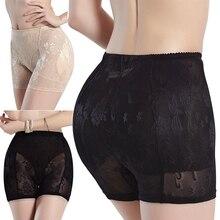 Women Fashion Lace Padded Full Hip Enhancer Panties Shaper Underwear Butt Lifter