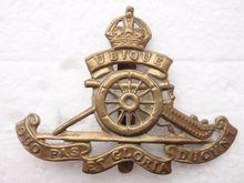 Low price custom Badge  Wholesale WW1/2 Royal Artillery Brass Cap Badge top quality military badge FH680091 u s ww1 m1917 helmet zc49 with ww1 usmc badge gray