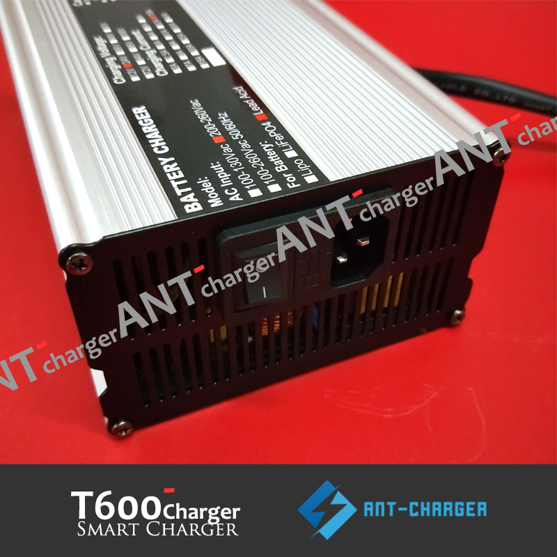 Micro plug 48v 3a Lipo High Speed Charger Alum for Lithium Electric Bike Battery