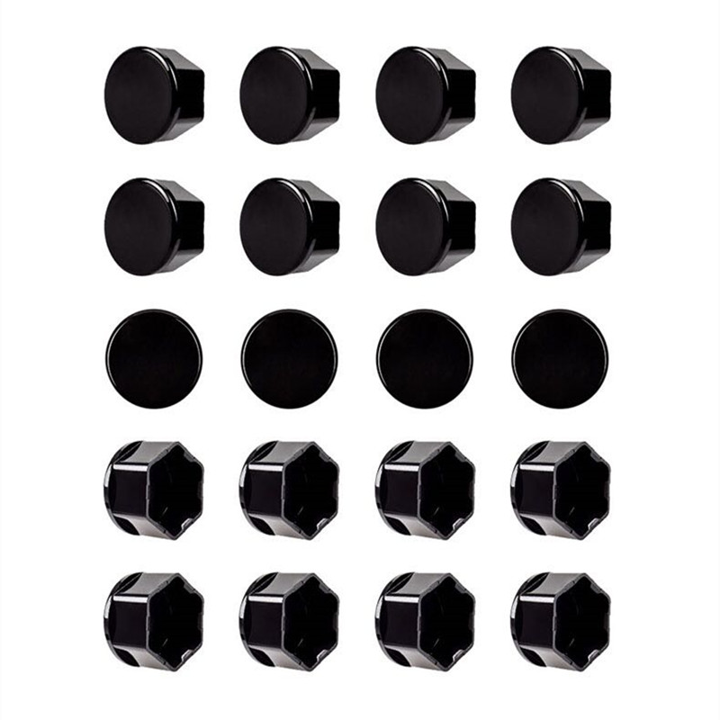 Image 4 - For Tesla Model 3 Wheel Nut Covers  Lug Nut Covers   Glossy Black-in Wheel Center Caps from Automobiles & Motorcycles