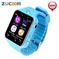 Inteligente Relógio Do Telefone SOS Chamada ZW67 Relógio De Pulso Da Criança Do Bebê Do Miúdo Crianças Seguro Localização GPS Tracker Anti-perdido Do Monitor Para IOS Android