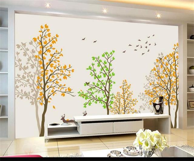 Behang Voor Kinderkamer : D behang custom foto behang kinderkamer mural handgeschilderde