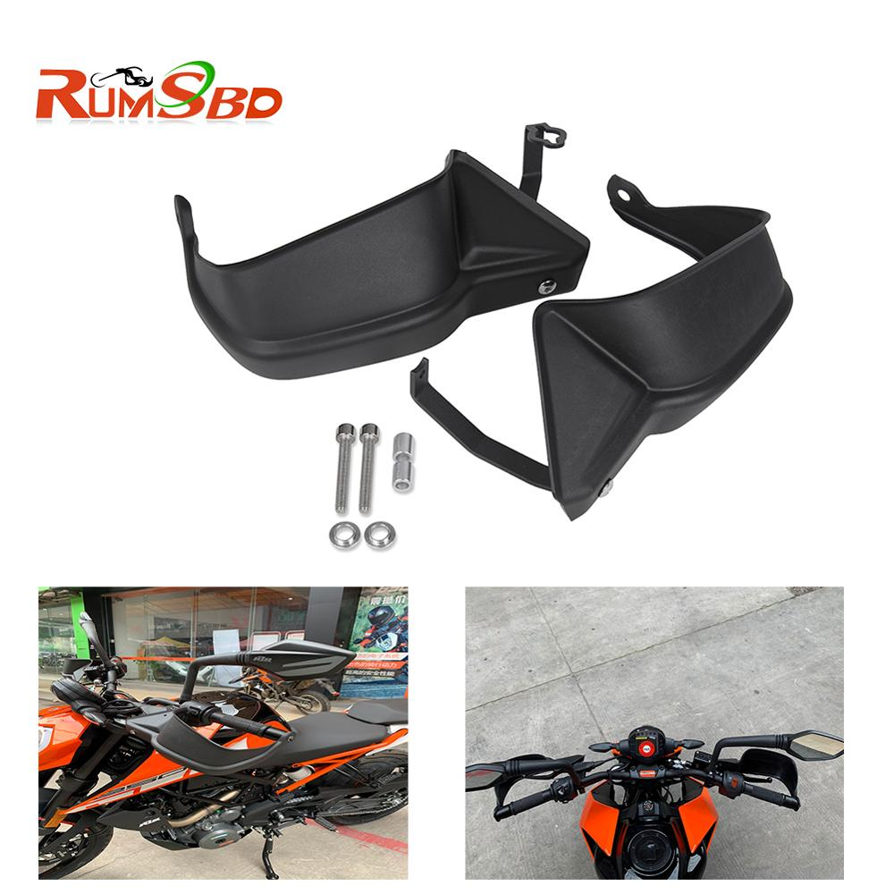 For KTM Duke250 Duke390 Handguard Hand Guard Protector Brake Clutch Cover Shell Duke 390 <font><b>250</b></font> <font><b>2013</b></font> 2014 2015 2016 2017 2018 2019 image