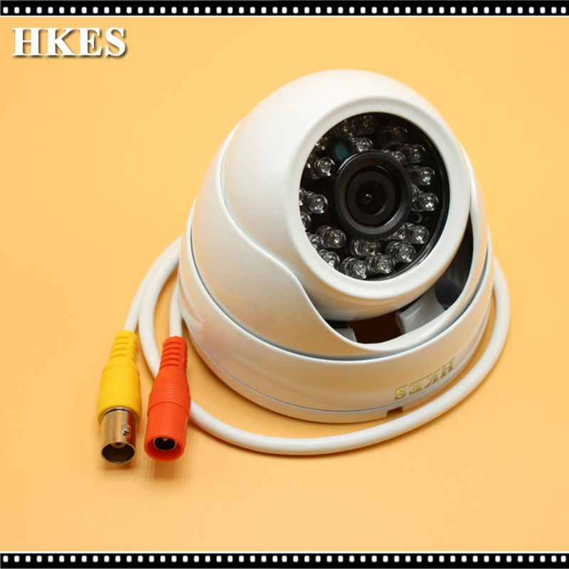 HKES Analog High Definition AHD MINI Camera IR Outdoor HD 720P AHD-M Dome Cam 1MP