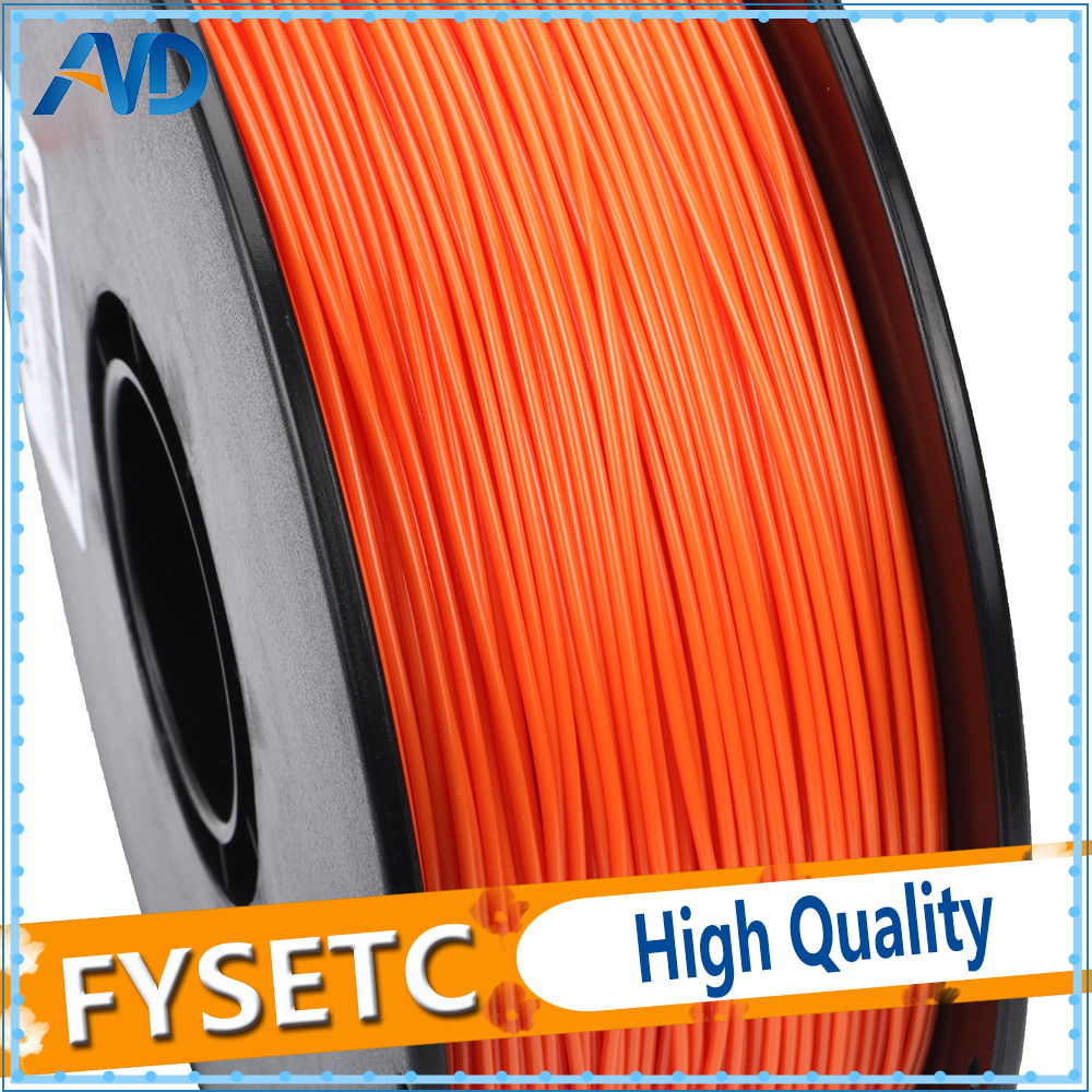 1.75mm 1kg/2.2lbs PETG Filament Orange Color Printing Materials 1.75 PETG Filament VS ABS/PLA For 3D Printer/3D Pen Top Quality abs filament 1 75 in yellow color 1kg