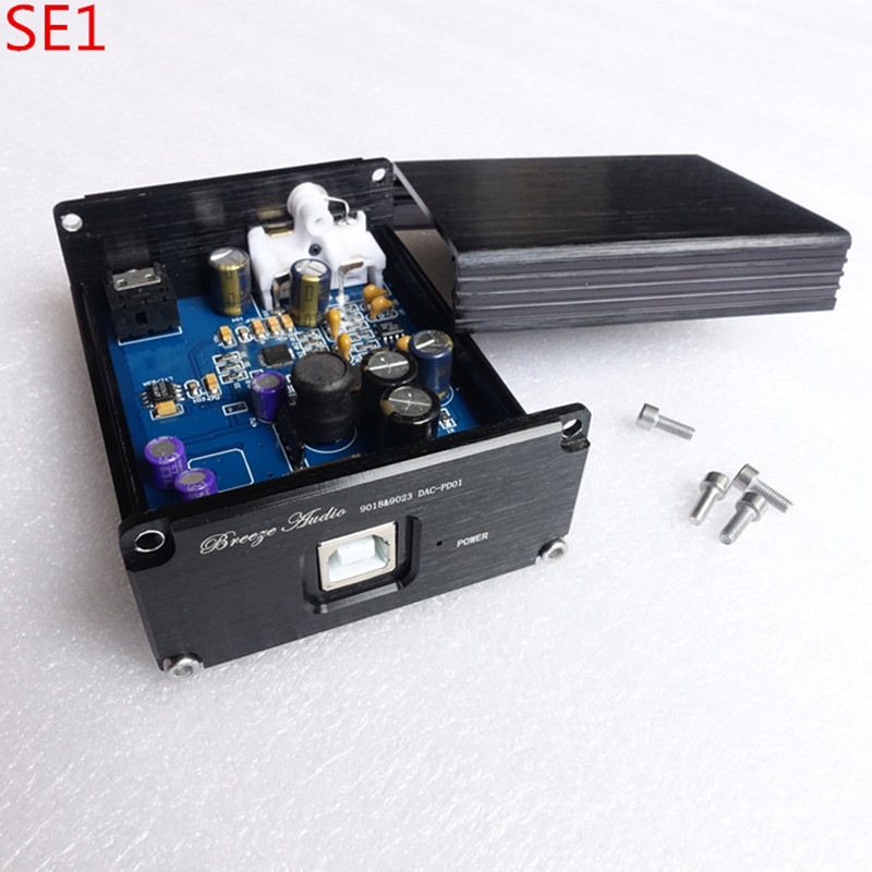 Breeze audio SE1 ES9018 ES9018K2M USB decoder HIFI audio card DAC headphone amplifier earphone amp