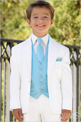 Custom Made Two Button White Kids Tuxedos Handsome Primary Scholar Business Suits Boy Prom Suits (Jacket+Pants+Vest+Tie) K:675