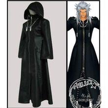 Anime Kingdom Hearts Series Axel Action Figure Cosplay Costume Animation Kingdom Hearts Coat S-XL Free Shipping