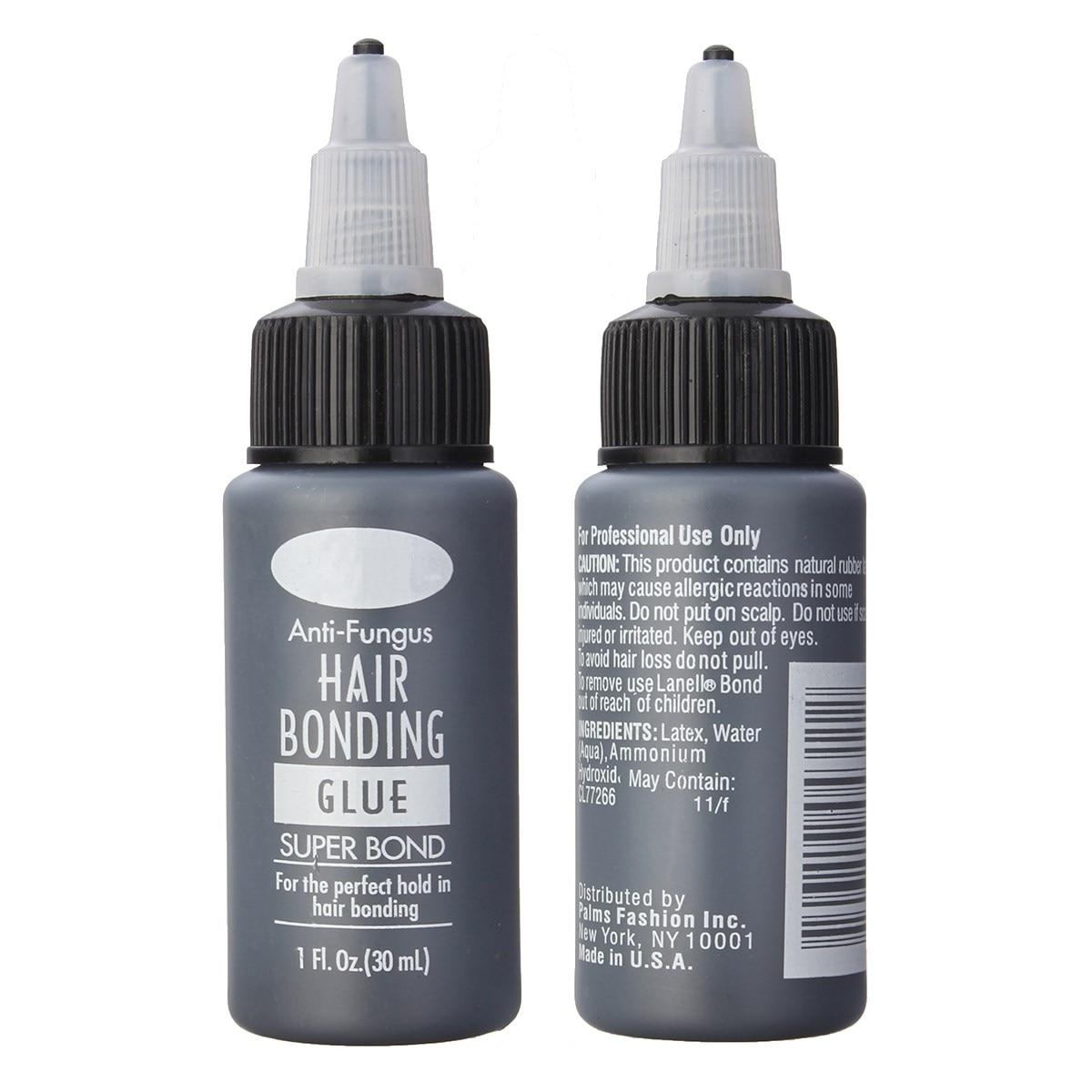 1Bottle 1Floz Hair Bonding Glue Super Bonding Liquid Glue For Weaving Weft Wig Hair Extensions Tools Professional Salon Use