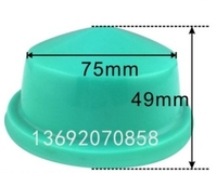 Cabeza de almohadilla de goma de silicona para máquina de impresión de almohadilla diámetro 75mm