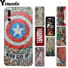 Yinuoda Marvel Avengers Heros Comics Coque Phone Case for Huawei P20 Lite P10 Plus Mate9 10 Mate10 Lite P20 Pro Honor10 View10(China)