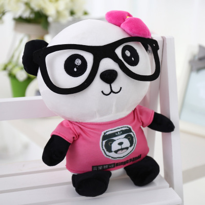 lovely panda in pink  dress ,big 90cm plush toy panda doll soft throw pillow, proposal ,birthday gift x030 l112 proposal in paris