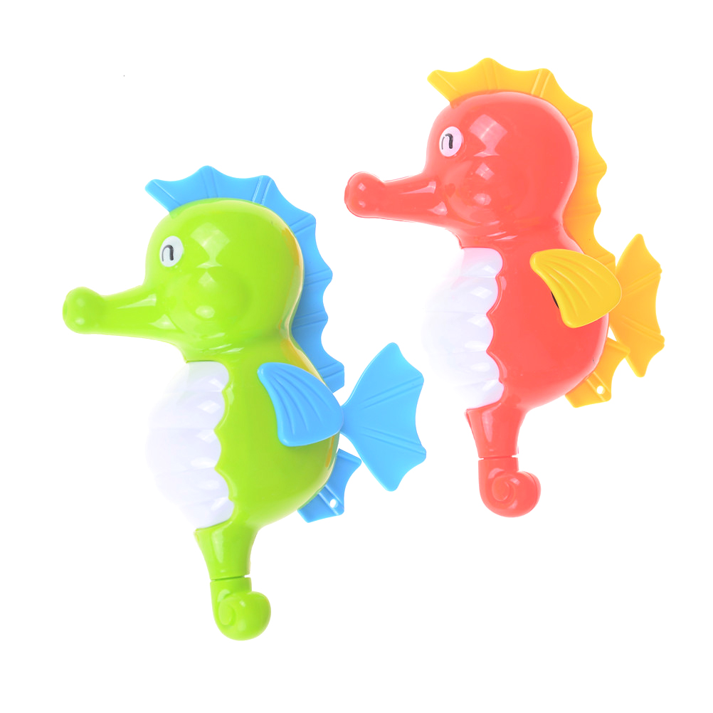 Cute Drink Float Water Swimming Educational Water Toys Childs Play Clockwork Winding Up Hippocampus For Children Baby Bath Toys