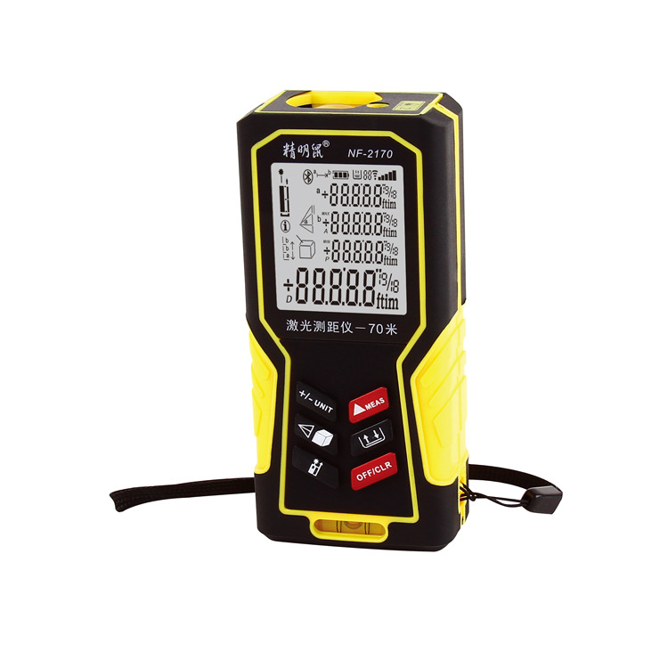 NF-2170 distance area volume measuring instrument or table Measure up to 70M digital las ...