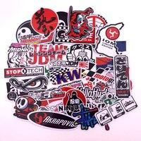 40Pcs Cartoon Car Stickers Motorcycle Decal for Helmet Luggage Skateboard Bicycle Mobile Phone Rossi JDM AKRAPOVIC YOSHIMURA