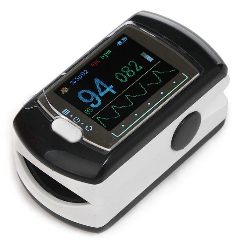 Free Shipping New Fingertip Pulse Oximeter for Sleep Study & Monitoring - Spo2 Monitor Finger Pulse Oximeter