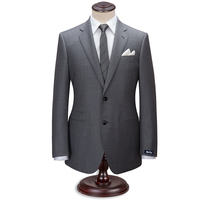 Custom Made Grey Men Suit Tailor Made Suit Bespoke Middle Grey Wedding Suits For Men Slim