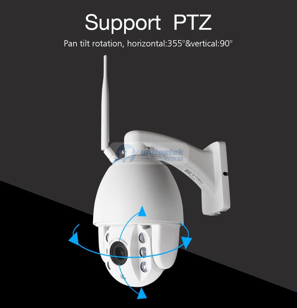 05 5x Zoom PTZ IP Camera