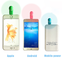 Phone Cooling Fan Mini Portable Type C Mobile Phone Cooling Fan Super Mute For Android LG Huawe Random Color Dropshipping X dropshipping portable otg mini micro usb large wind cooling fan usb mobile fan for android phone desktop laptop powerbank
