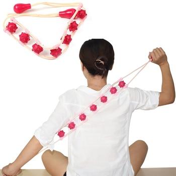 SPEQUIX plástico Multi-Efecto cintura hombro masaje rodillo Pull Back dispositivo cuerpo completo relajación Herramienta 7 Bolas