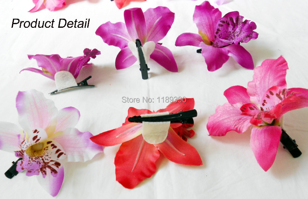 hawaii strand haarschmuck hochzeit braut haar clip pins rot weiÃ