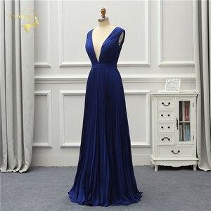 Image 3 - Jeanne Love Vestido De noche Formal sencillo, nuevo, corte bajo, Sexy, sin espalda, elegante, para fiesta, OL5222
