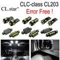 14 unid X 100% Free Error LED Kit paquete interior lámpara de luz Para Mercedes Benz CLC clase CL203 CLC200 CLC250 CLC350 (2008-2011)