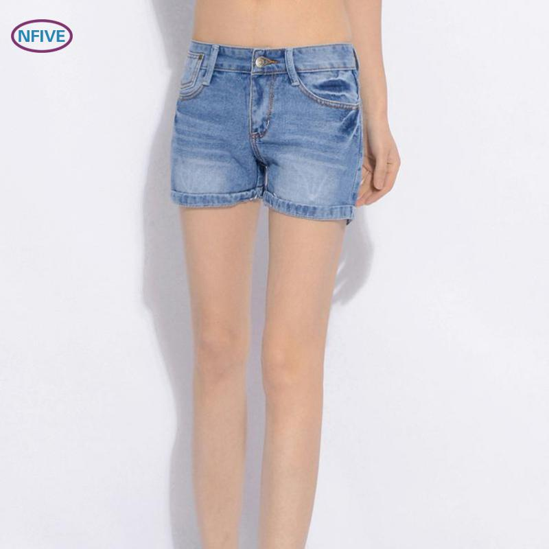 NFIVE Trouser Short-Pants Light-Wear Fashion Summer Women All-Match Cotton Slim Brand