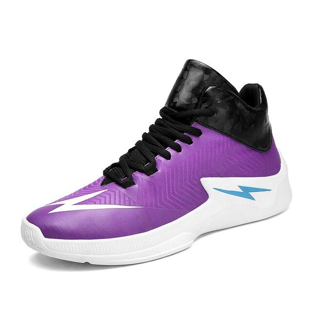 Для мужчин спортивная баскетбольная обувь Anti-скользкий КОМФОРТ Кроссовки Новое поступление 2018 мода молния мандаринка баскетбольные кроссовки